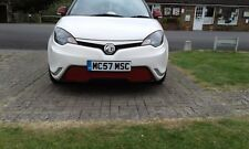 """MG3 FRONT DUAL FINE MESH GRILLE SET IN """"BLACK & RED"""" ALL MODELS AND FACELIFT"""