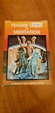Yeager Tarot of Méditation, 1983 Occulte Divinatoire Symbolisme Astrologie