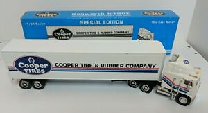 Cooper Tire & Rubber Kenworth K100E Tractor Trailer Truck Locking Coin Bank