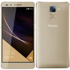 Senza Sim HUAWEI HONOR 7 Premium Dual SIM Smartphone Android Sbloccato 32GB ORO