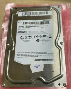 "Samsung 1TB SATA Internal Hard Drive 3.5"" 7200RPM ST1000DM005 - Tested"