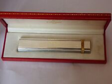 Very Nice Cartier Trinity Desk Lighter - Silver Plated comes Boxed
