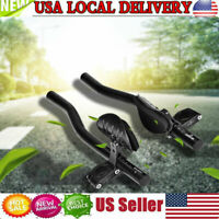 Aluminum Alloy Bicycle Riding Handlebar Arm Rest Clip For Mountain Road Bikes US