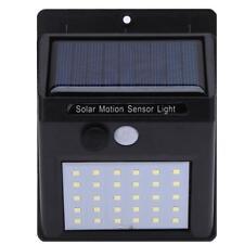 38-LED PIR Solar Power Sensor Wall Garden Light Security Motion Outdoor Lamp