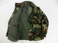 US ARMY WOODLAND CAMO M65 FIELD JACKET - Small XLong - New