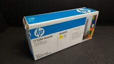 HP Q6002A Yellow 1600 2600 GENUINE Toner Cartridge NEW