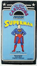 Vintage Superman All Star Cartoons VHS Video tape Vol 8