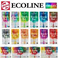 Ecoline Brush Pen Sets Royal Talens - Watercolour Paint *All Sets* Artist Art