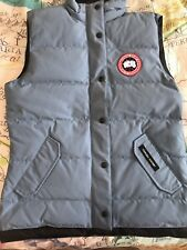 Canada Goose Women's Free Style Puffer Down Winter Vest Medium New NWOT Sky Blue
