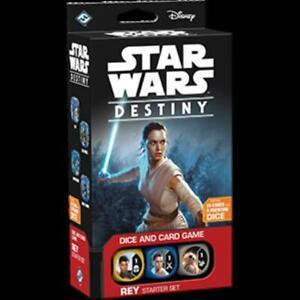 FFG Star Wars Destiny Rey Starter Set No Box NM