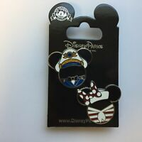 DCL Mickey & Minnie Icons 2 Pin Set Disney Pin 116529