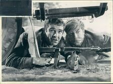 1965 Actors Sean Connery Alfred Lynch In Movie Operation Snafu Press Photo