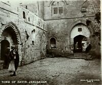 Collectable Vintage Postcard Holy TOMB OF DAVID JERUSALEM Real Photography