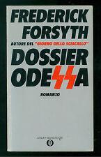 FORSYTH FREDERICK DOSSIER ODESSA MONDADORI 1983 OSCAR 883 GIALLI SPIONAGGIO