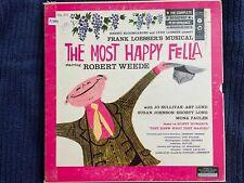 New listing The Most Happy Fella (3LP box set 1956) Frank Loesser, Robert Weede, O3L-240