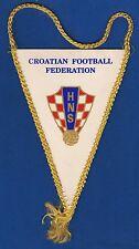 HNS, CROATIAN FOOTBALL FEDERATION - Hrvatski nogometni savez, vintage flag !