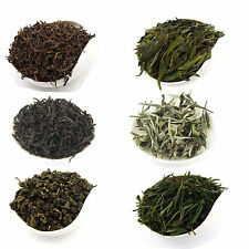 6 Types Basic Tea White Tea Green Tea Oolong Tea Pu-erh Tea Black Tea T146