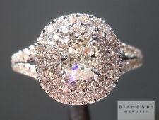 .53ct J VVS2 Cushion Cut GIA Double Halo Ring R5090 Diamonds by Lauren