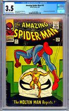AMAZING SPIDER-MAN #35 CGC 3.5 STAN LEE STEVE DITKO ART 2ND MOLTEN MAN APP 1966