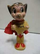 Vintage Terryton Mighty Mouse Rubber Figure