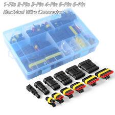 Vehículo enchufe Conector De Alambre Eléctrico Terminales 1 2 3 4 5 6 Pin forma Fusibles Y Caja