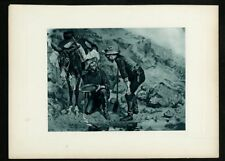 Original Print - John Muir - Picturesque California - Miners Prospecting for Gol