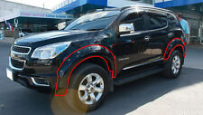 4DOOR OFF-ROAD FENDER FLARES WHEEL ARCH FOR CHEVROLET HOLDEN COLORADO 7 12 13 14