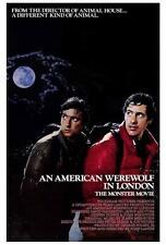 An American Werewolf in London Movie Poster 27 x 40, A, Licensed, U.S.A. New