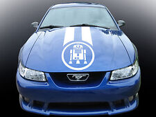 RACE STRIPE Star Wars R2D2. Custom car vinyl sticker. Viper transfer.