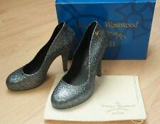 BNIB Melissa Anglomania *Vivienne Westwood* Skyscraper Glitter Heels RRP £195