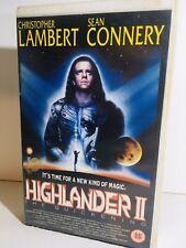 Highlander 2 - VHS Video - Film - Big Box