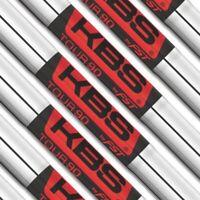 KBS Tour Satin 90 Golf Iron Shaft Set .370 STEEL STIFF NEW (choose your set)