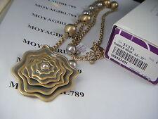 Lia Sophia Garden Rose Necklace RV $128 NIB