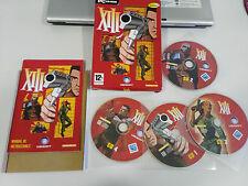 XIII 1º EDICION JUEGO PARA PC 4 X CD-ROM EN ESPAÑOL UBISOFT CAJA CARTON 2003