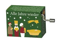 """Spieluhr/Drehorgel: Weihnachtslied - """"Alle Jahre wieder"""""""