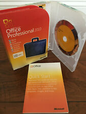 Used Microsoft Office Professional 2010 Full Retail Version