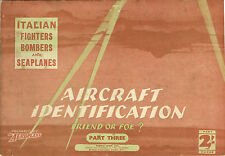 AIRCRAFT ID '41: FRIEND OR FOE? #3: ITALIAN FIGHTERS/BOMBERS/SEAPLANES/ DOWNLOAD
