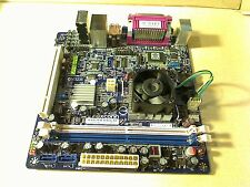 Foxconn D51S NM10 Motherboard ITX + Intel Atom  1.66GHz CPU COMBO