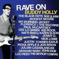 RAVE ON BUDDY HOLLY CD THE BLACK KEYS LOU REED UVM NEU