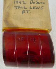 1942 Desoto NOS MOPAR Right Tail Light Lamp Lens