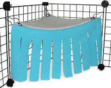 New listing Hamster Cage Hanging Bed Nest Guinea Pig Hideout Hideaway Cage Rabbits Pets Us