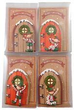 Christmas Elf Door Fairy Doors Childrens Shelf Table Decoration Xmas Party Bag