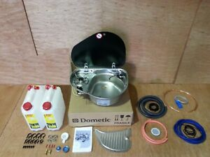 Smev Dometic 8821 Campervan Sink & Cooker / Hob Combi Unit kit & Template RH 10L
