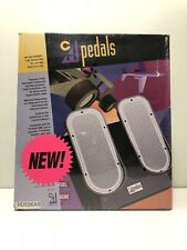 New CH Products Rudder Pedals Flight Simulator - Vintage - Not USB - Sealed Box