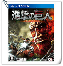 PSV 進撃的巨人 中文版 / Shingeki no Kyojin ATTACK TITAN JAP Sony VITA Games Action Koei