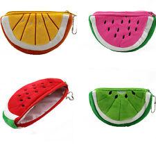 1PCS Fashion Creative Fruit Lovely Cartoon Watermelon Coin Bag Purse Wallet