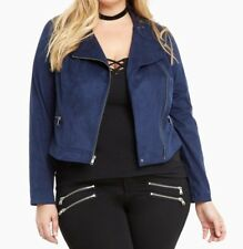 6650632eb5345 Faux Leather Torrid Plus Size Coats   Jackets for Women