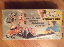 RARE!!!! 1973, STICK SHIFTERS, FLIP'IN FOOL CAR, JUMP RAMP, CONSOLE & BOX! COUPE