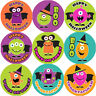 144 Monster Halloween 30mm Children's Reward Stickers for Teacher, Parent,