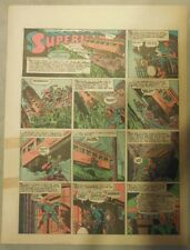 Superman Sunday Page #187 by Siegel & Shuster from 5/30/1943 Tab Page:Year #4!